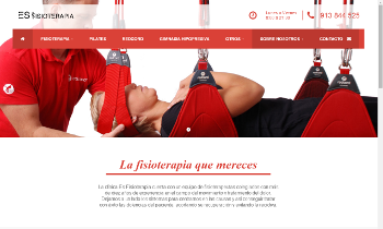 Web Corporativa EsFisioterapia. Plataforma Wordpress responsive.